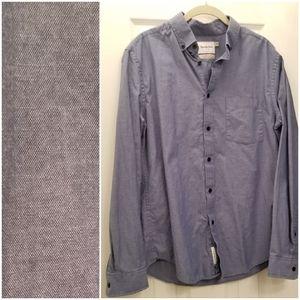 Button down long sleeve Northrop shirt